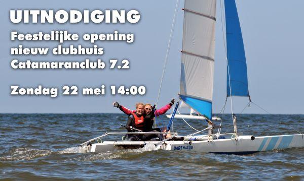 Opening clubhuis Catamaranclub 7.2